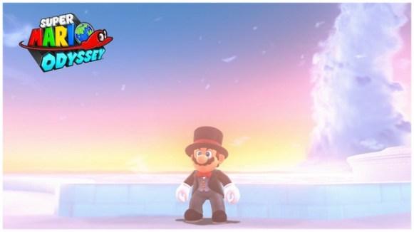 Super Mario Odyssey - pays des Nuages 4