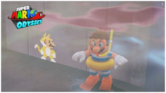 Super Mario Odyssey - pays du Lac 7