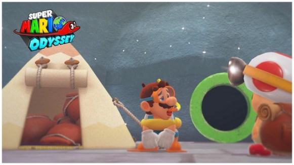 Super Mario Odyssey - pays du Lac 8