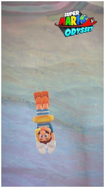 Super Mario Odyssey - pays du Lac 17