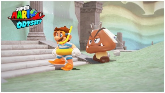 Super Mario Odyssey - pays du Lac 13