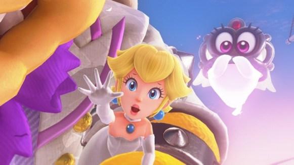 Super Mario Odyssey - pays des Nuages 2