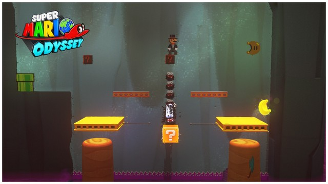 Super Mario Odyssey - pays perdu 2