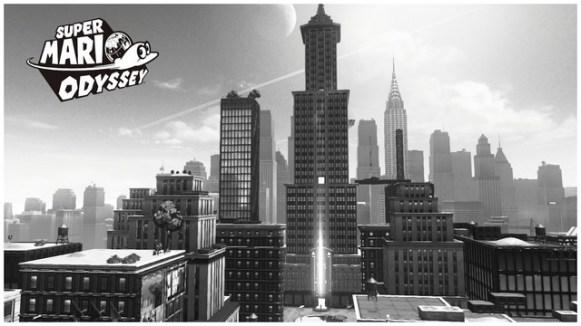 Super Mario Odyssey - pays gratte-ciel 8