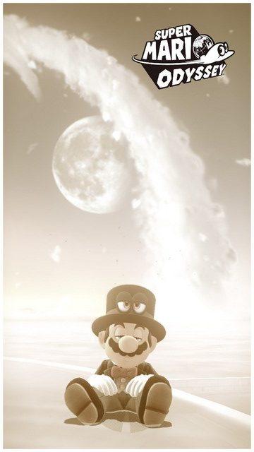 Super Mario Odyssey - pays des Nuages 9