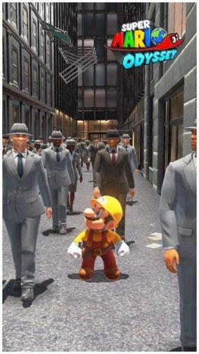 Super Mario Odyssey - pays gratte-ciel 55