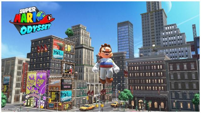 Super Mario Odyssey - pays gratte-ciel 38