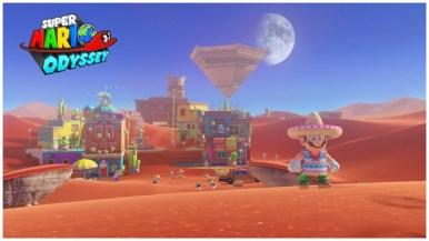 Super Mario Odyssey - pays des sables 13