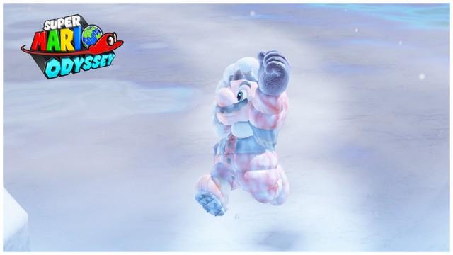 Super Mario Odyssey - pays neiges 5