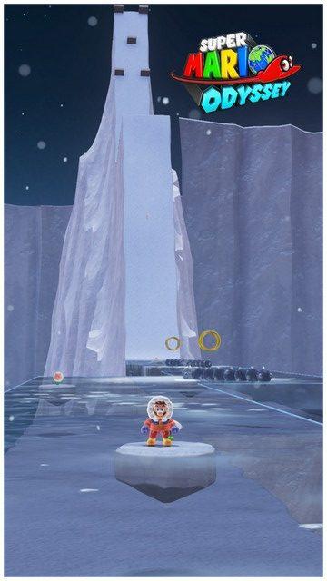 Super Mario Odyssey - pays neiges 7