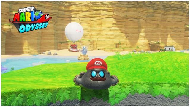 Super Mario Odyssey - pays de la mer 6