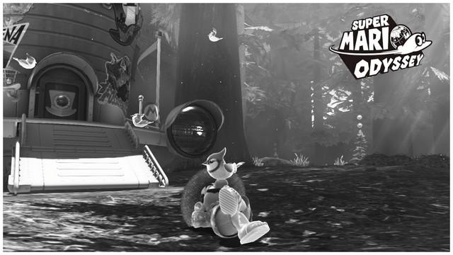 Super Mario Odyssey - pays de la foret 9