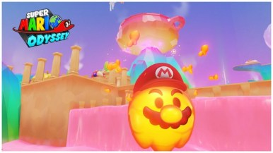 Super Mario Odyssey - pays de la cuisine 2