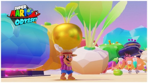 Super Mario Odyssey - pays de la cuisine 5