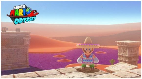 Super Mario Odyssey - pays des sables 15