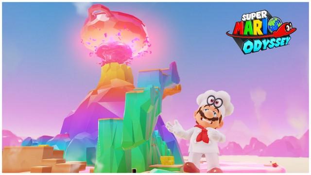 Super Mario Odyssey - pays de la cuisine 9