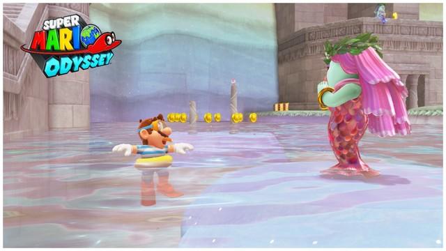 Super Mario Odyssey - pays du Lac 18