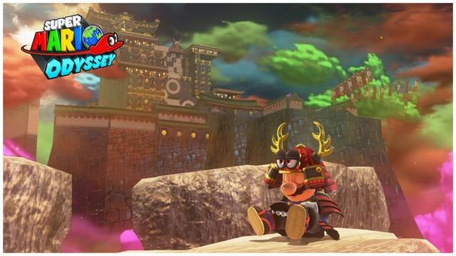 Super Mario Odyssey - pays de Bowser 9