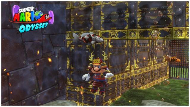 Super Mario Odyssey - pays de Bowser 14