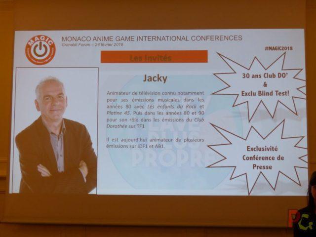 Conf presse MAGIC 2018 - Jacky