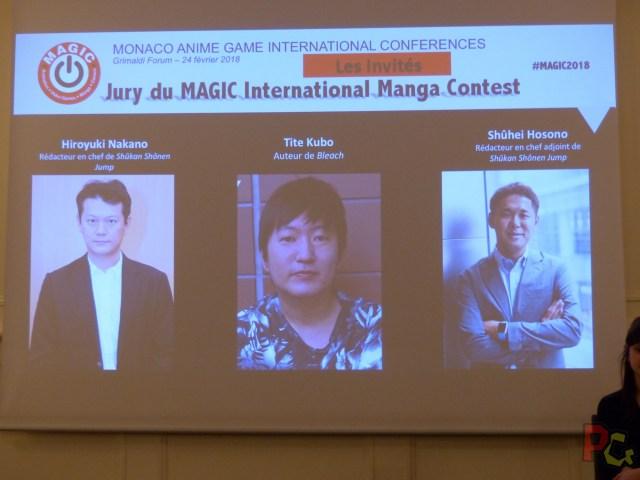 Conf presse MAGIC 2018 - invités manga