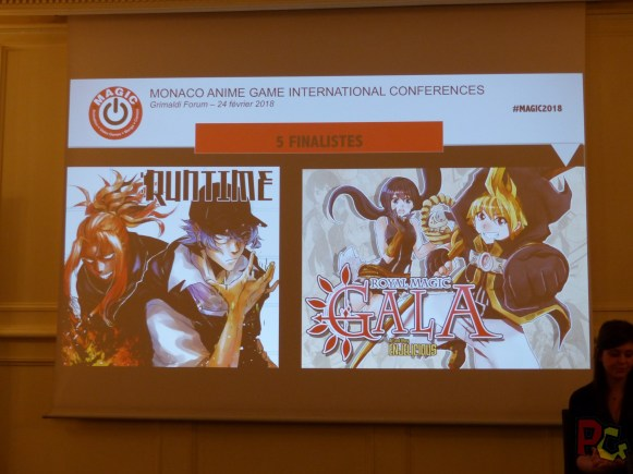 Conf presse MAGIC 2018 - projet manga 1