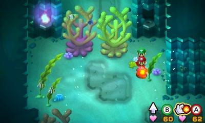 Mario et Luigi Superstar Saga - niveau aquatique