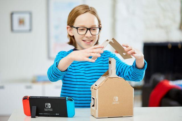 Nintendo Labo - découverte maison