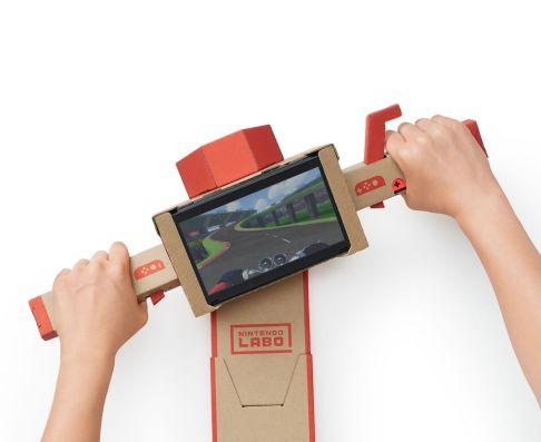 Nintendo Labo - jeu moto