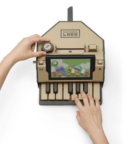 Nintendo Labo - jeu piano