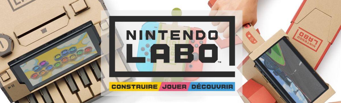 Nintendo Labo - slider