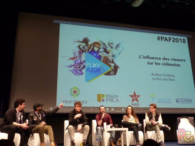 PAF2018 - conférence YT