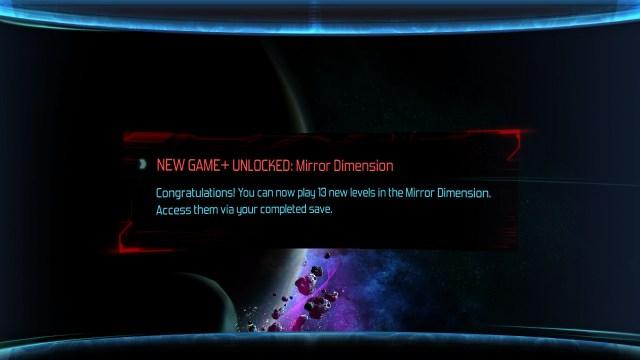 Dimension Drive - déblocage mode miroir