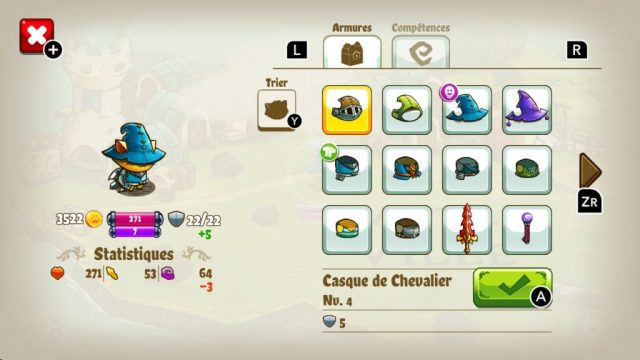 Cat Quest - equipement