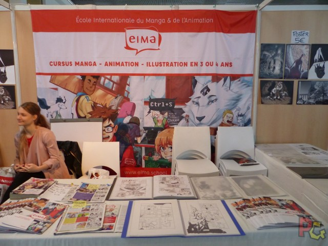 MAGS2018 ecole manga