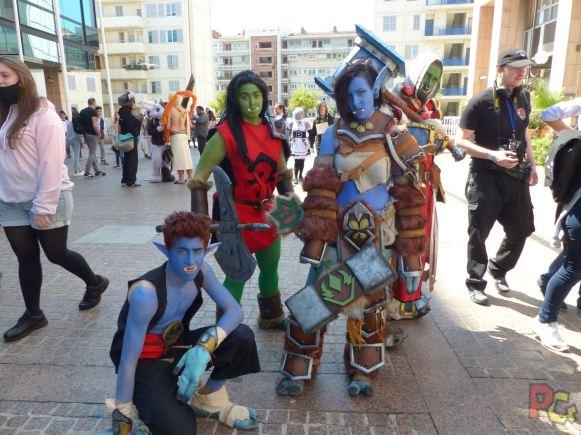 Mangazur 2018 - cosplay groupe