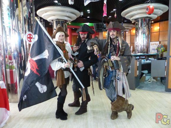 Mangazur 2018 - cosplay pirates
