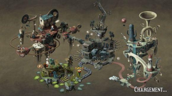 Figment - Carte des mondes