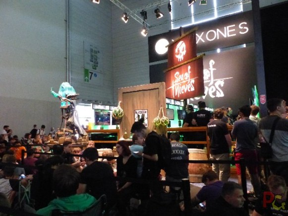 Gamescom 2017 - sea of thieves