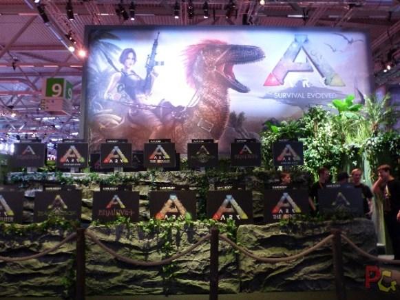 Gamescom 2017 - stand Ark