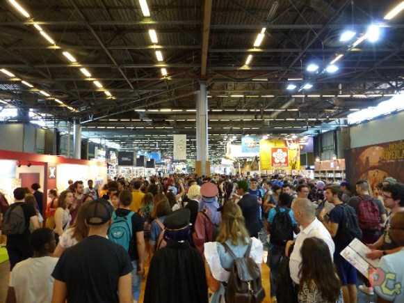 Japan Expo 2018 - monde sur place