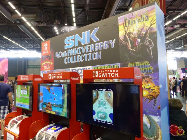 Koch Media Japan Expo 2018 - SNK 40th anniversary