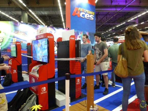 Nintendo Japan Expo 2018 - Mario Tennis Aces