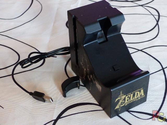 Chargeur Pro Controller Zelda - branchement pro controller