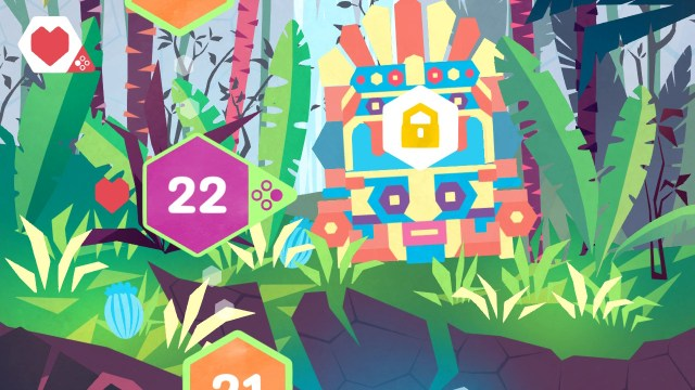 Hexologic - menu bouton
