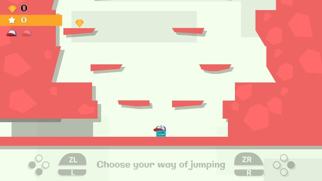 Jumping Joe and Friends Switch - commandes