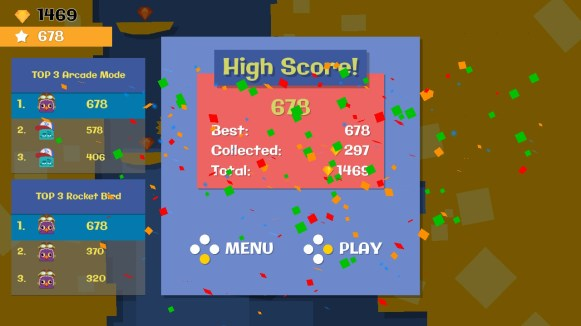 Jumping Joe and Friends Switch - high score