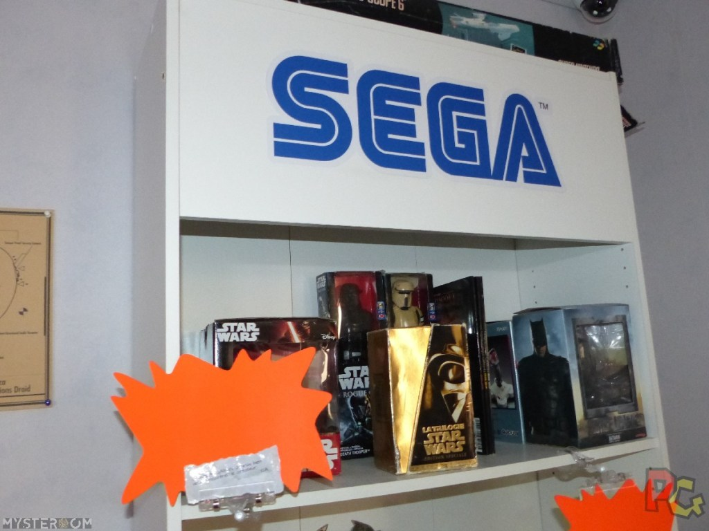Escape Game Geek OLI - bibliotheque Sega avec indices