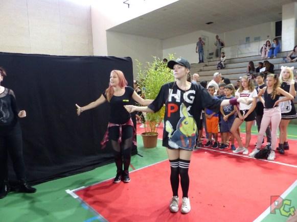 Japan Aurea 11ème édition - stand Just Dance avec Dina et Manu
