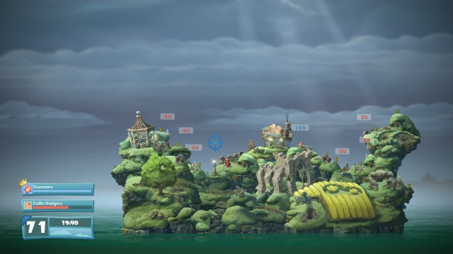 Test Worms WMD - première bataille